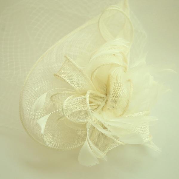 Damer Vackra Och Netto garn/Batist Panna smycken/Hatt