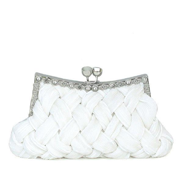 Charming Silk Clutches/Bridal Purse/Evening Bags