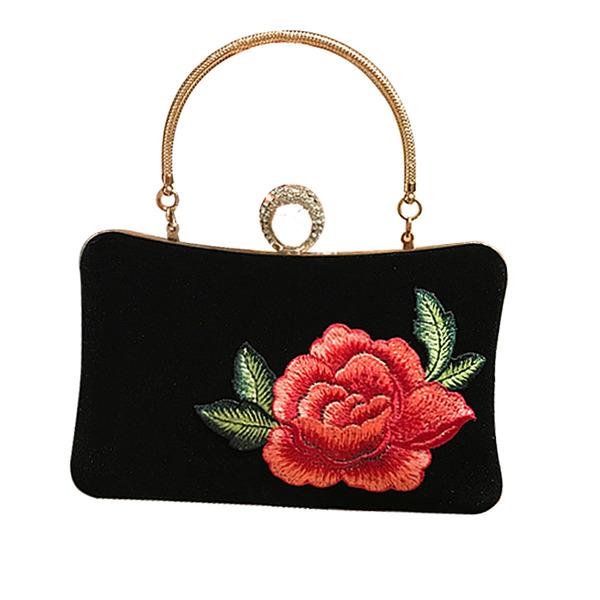 Elegant Samt Handtaschen/Henkeltaschen/Abendtaschen