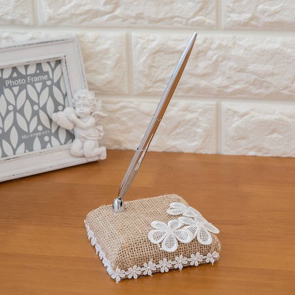 Flowers Design Flower Guestbook & Pen Set
