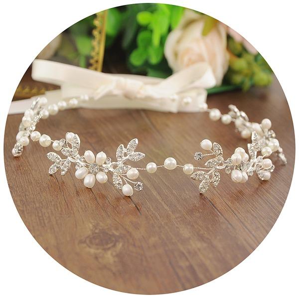Damer Glamorøse Imitert Perle/Pärlor Pannebånd (Selges i ett stykke)