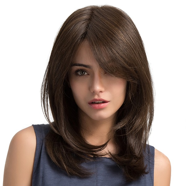 Wavy Synthetic Hair Synthetic Wigs 170g