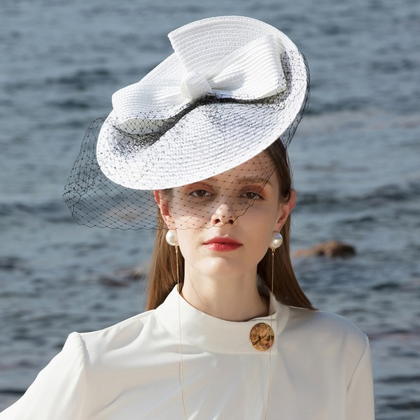 Dames Betoverend/Klassiek/Elegant/Romantische Pp Fascinators/Baret van Hat