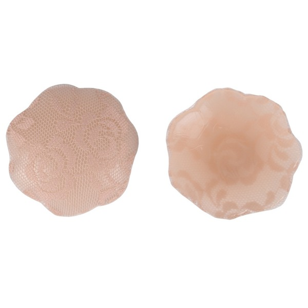 Lace/Silicone Feminine Nipples Covers