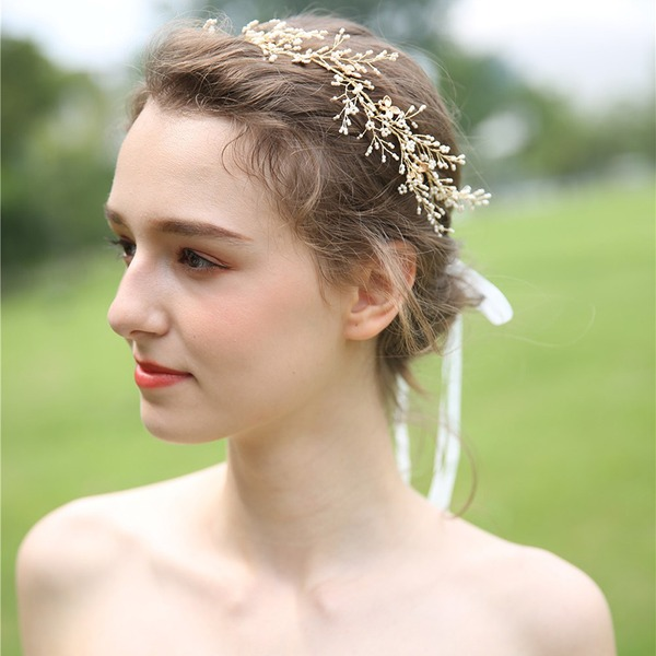 Filles Beau Alliage/Perles Bandeaux (Vendu dans une seule pièce)