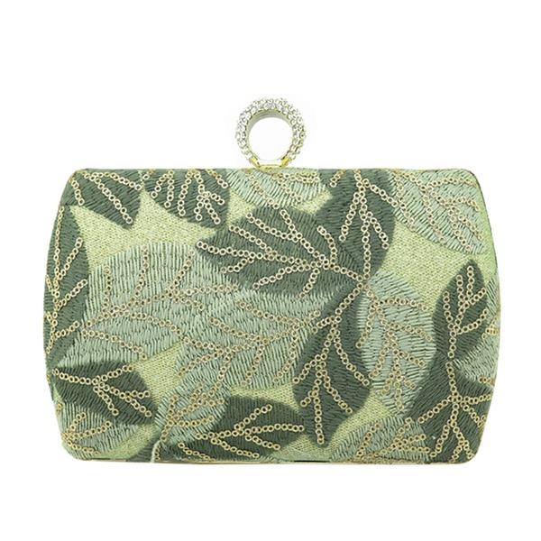 Elegant Seide Handtaschen/Schminktäschchen