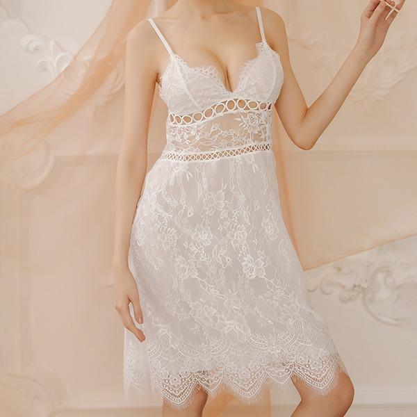 De chinlon Style Classique Féminine Vêtements de nuit