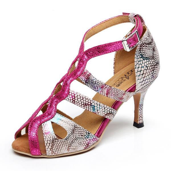 Femmes PU Talon stiletto Sandales chaussures