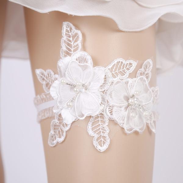 Mode/Jahrgang Hochzeit Strumpfbänder