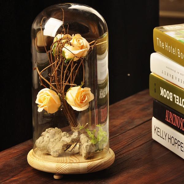 30cm*17cm Attraktiv Smuk Glas Ornament (Sælges i et enkelt stykke)