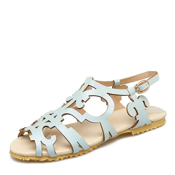 Donna Similpelle Senza tacco Sandalo Ballerine con Altrui scarpe