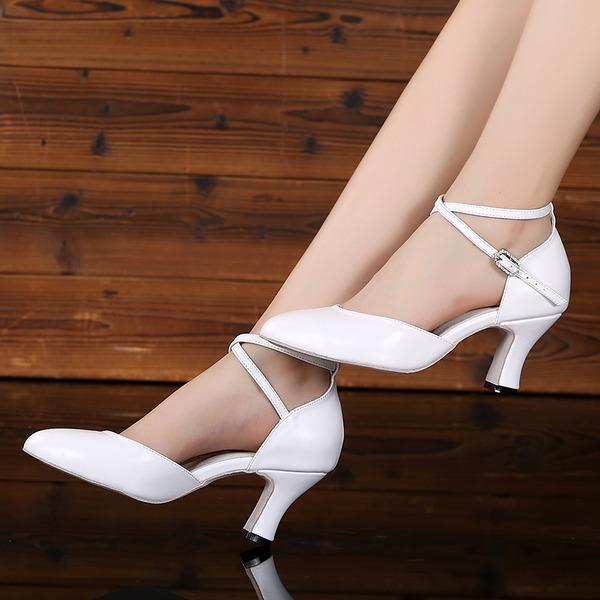 Donna Vera pelle Tacchi Sala da ballo Scarpe da ballo