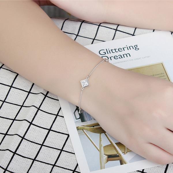Mooi Kristal Zirkoon Koper met Zirkoon Fashion Armbanden (Verkocht in één stuk)