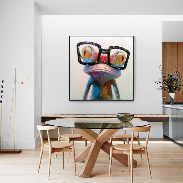 schattig canvas Huisdecoratie (Verkocht in één stuk)