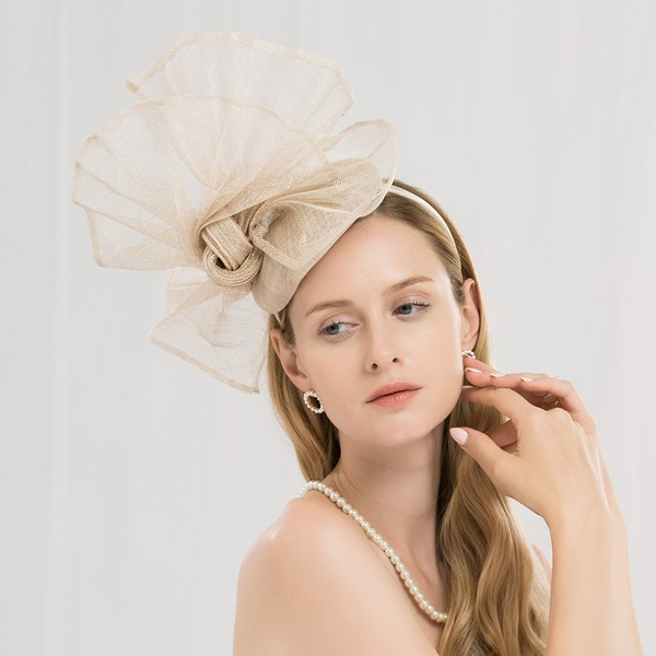 Ladies' Eye-catching/Pretty/High Quality Cambric Fascinators