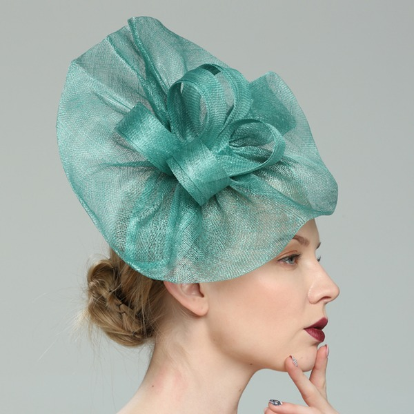 Senhoras Charmosa/Elegante/Fantasia Cambraia Fascinators/Kentucky Derby Bonés