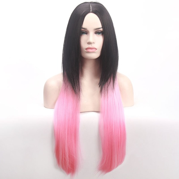 Straight Synthetic Hair Capless Wigs Cosplay/Trendy Wigs 320g
