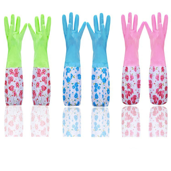 Casual PVC Cleaning Glove (Set of 2)