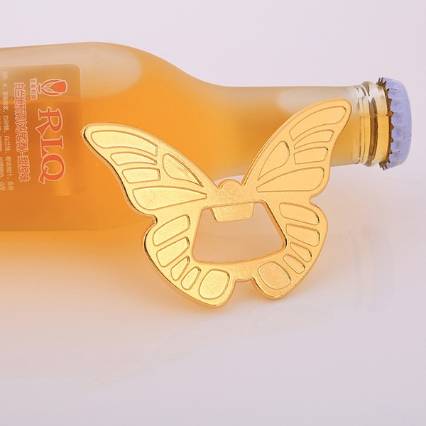 Cute Animal Butterfly Shape Alloy Bottle Openers (Set of 4)