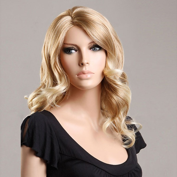 Loose Wavy Synthétique Perruques capless 200g