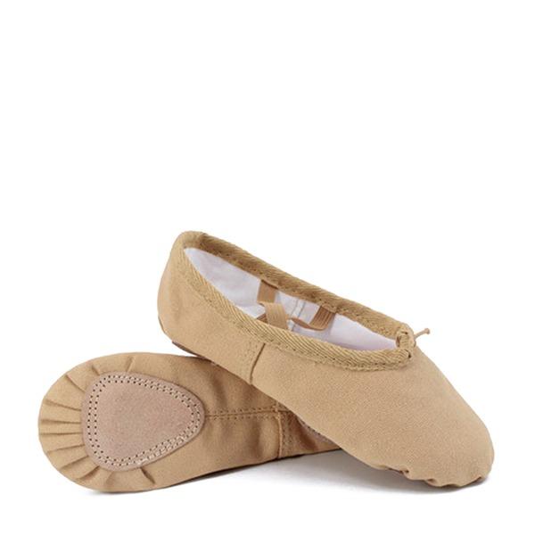 Dla kobiet Material Plaskie Balet Buty do Tańca