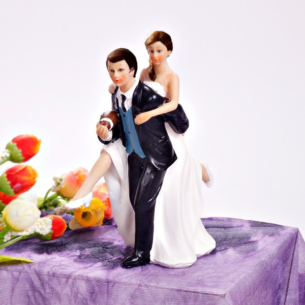 Спорт Пара смола Свадьба Фигурки для торта