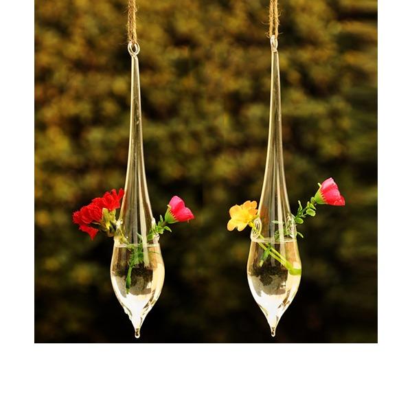 Hängen Wassertropfen geformt Glas Vase