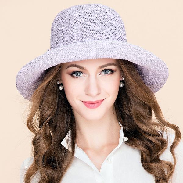 Elegant Polyester Diskett Hatt/Kentucky Derby Hatter