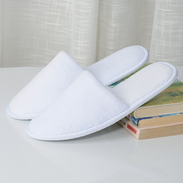Casual Simple Solid Color Cotton Slippers