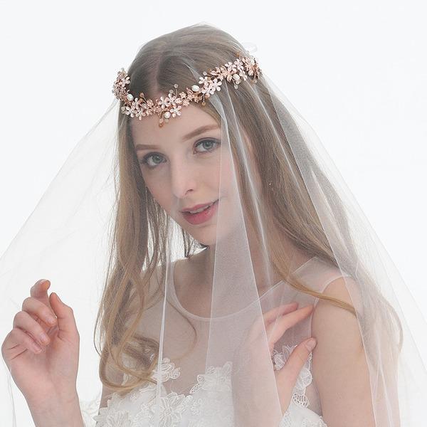 Abbigliamento donna Affascinante Strass/lega/Di faux perla Fasce con Strass/Perla Veneziano (Venduto in un unico pezzo)