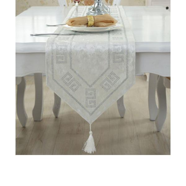 Toalhas Finas de Mesa Tecido Elegante Centros de mesa