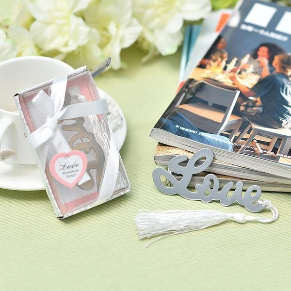 """""""Kærlighedshistorie"""" Rustfrit Stål Bogmærker (Sælges i et enkelt stykke)"""