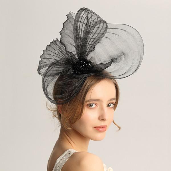 Dames Mode/Spécial/Glamour/Élégante/Unique/Fantaisie/Romantique/Style Vintage/Artistique Fil net Chapeaux de type fascinator