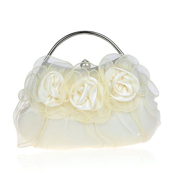 Elegant Polyester Clutches/Wristlets/Totes/Fashion Handbags/Makeup Bags/Luxury Clutches