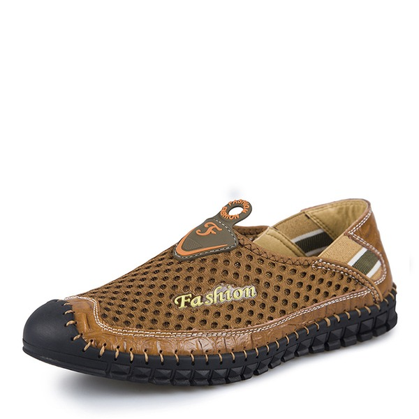 Mannen mesh Penny Loafer Casual Loafers voor heren