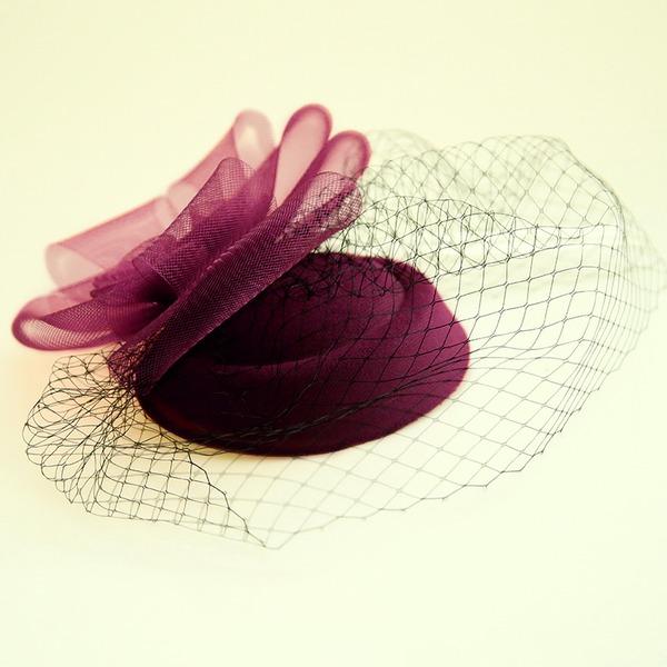 Ladies Beautiful Net Yarn/Flannelette Forehead Jewelry