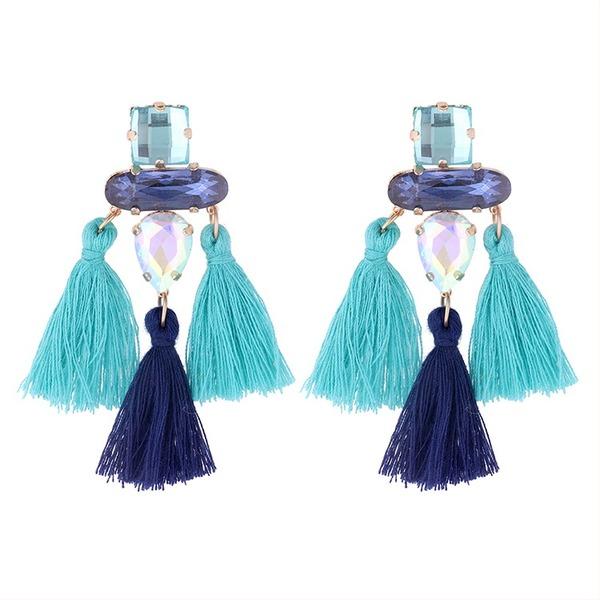 Unik Legering Glass Kvinner Fashion øredobber