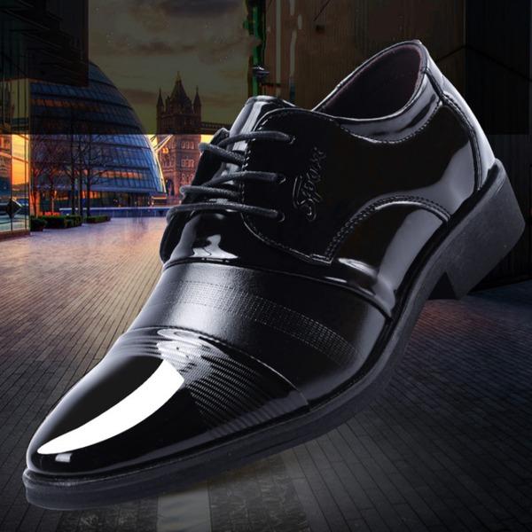 Män Microfiber läder Platta Skor / Fritidsskor Latin Modern Dansskor