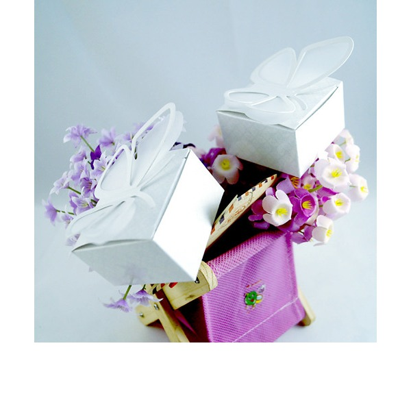 3D butterfly favor boxes (Set of 12)
