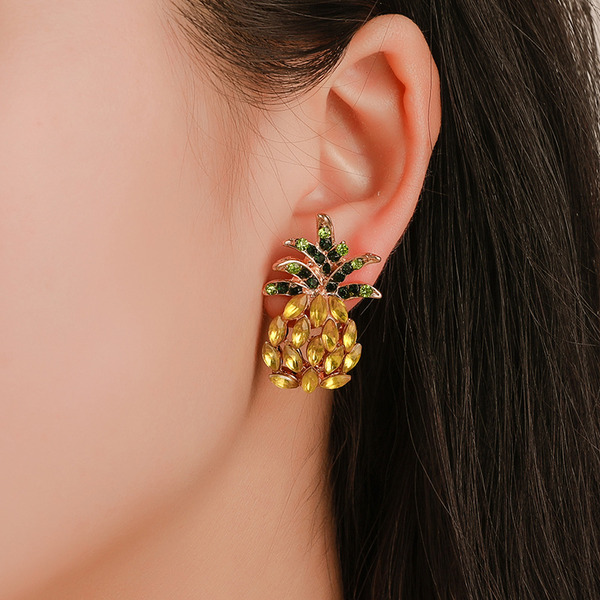 Unique Alloy With Rhinestone Women's Fashion Earrings