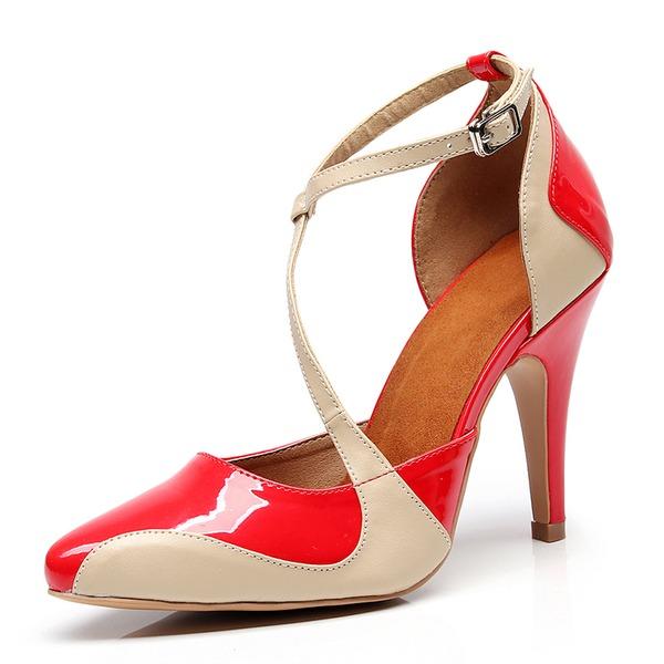 Donna Pelle microfibra Tacco a spillo Stiletto scarpe