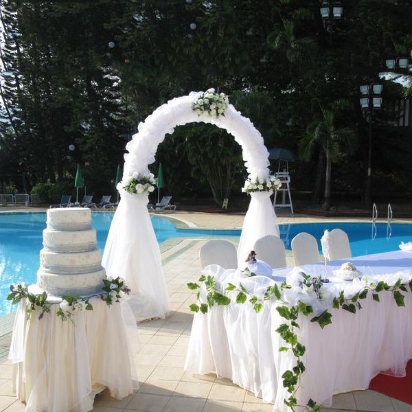 Theme Garden/Klasyczny styl Sztuczny jedwab Dekoracje ślubne
