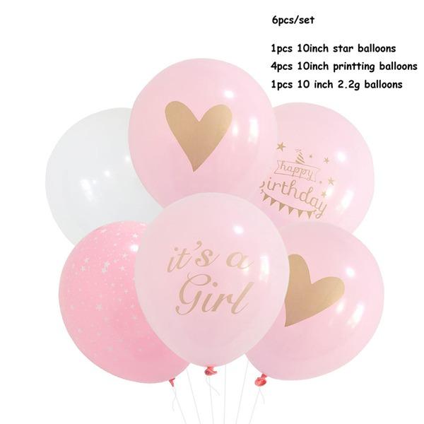 Vackra Och Söt Emulsion Ballong