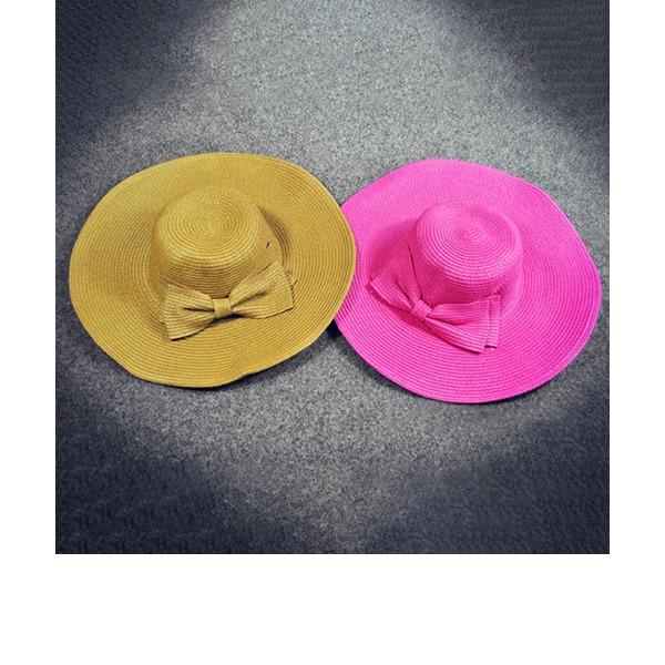Señoras' Fantasía Ratán paja Sombrero de paja