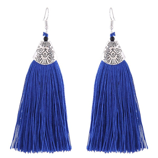 Shining Alloy Fashion Earrings