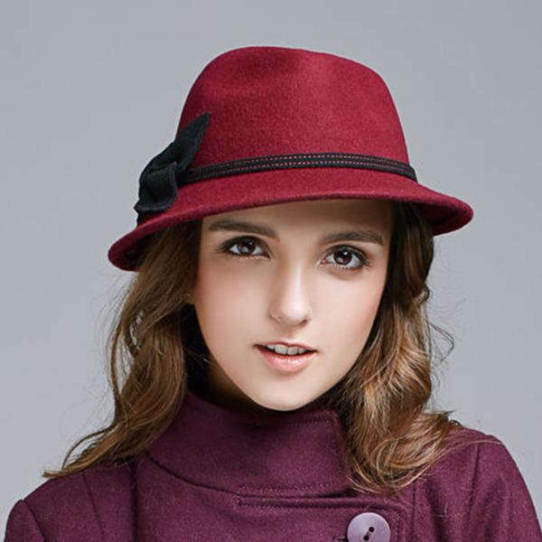 Ladies' Elegant Wool With Bowknot