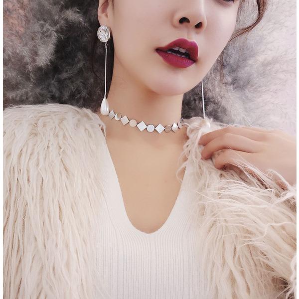 Einzigartig Kupfer Frauen Mode-Halskette