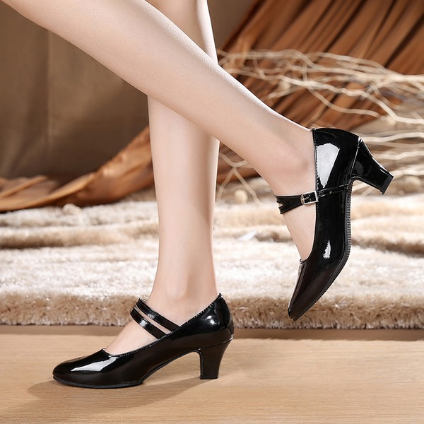 Women's Leatherette Heels Pumps Character Shoes Dance Shoes