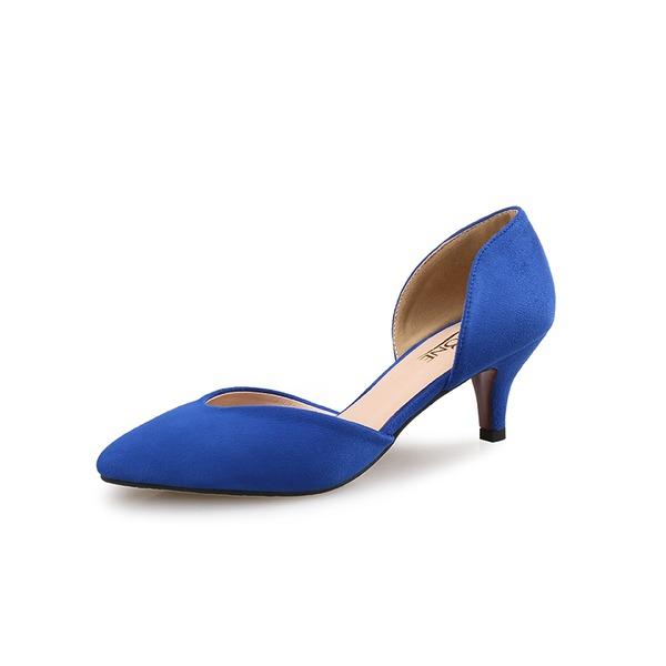 Kvinnor Mocka Stilettklack Pumps skor