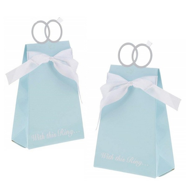 Classic High quality paper Creative Gifts With Ribbons (Set of 12)